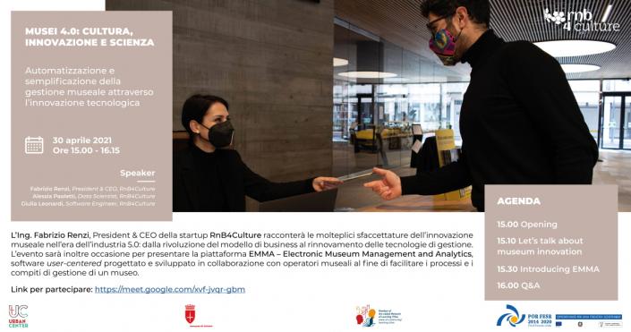 Musei 4.0 | Cultura, innovazione e scienza | Gestione museale