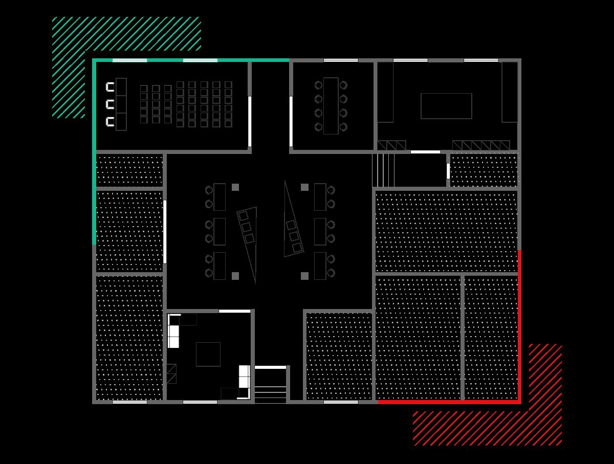 Piano terra | Fab-Lab | Stampanti scanner 3D | Plotter | Arduino