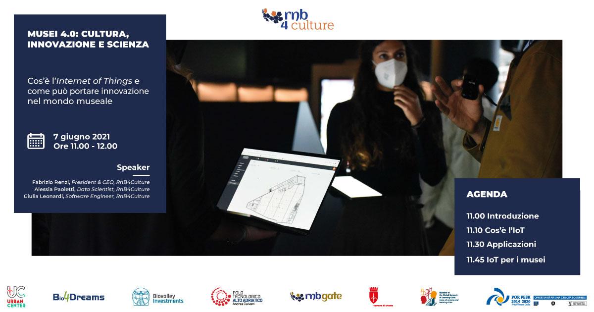 Musei 4.0   Cultura, innovazione e scienza   Internet of Things