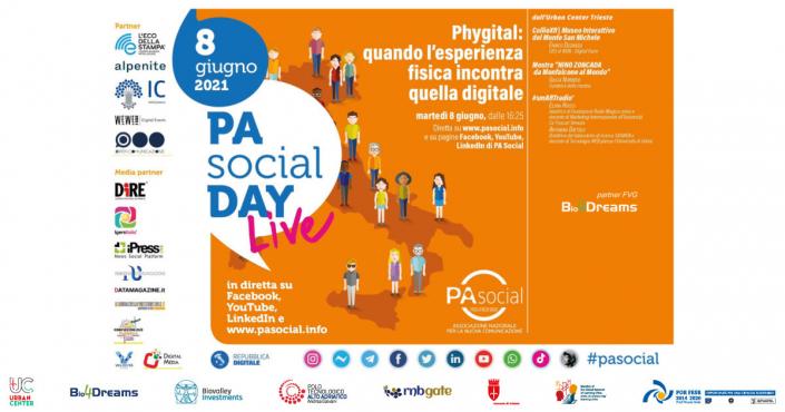 Locandina | PA Social Day