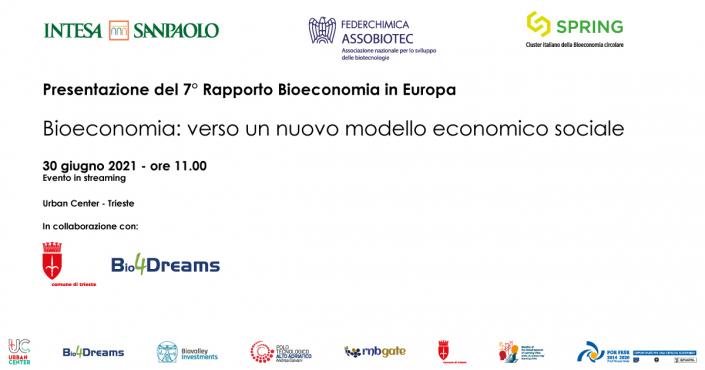 7° Rapporto Bioeconomia in Europa