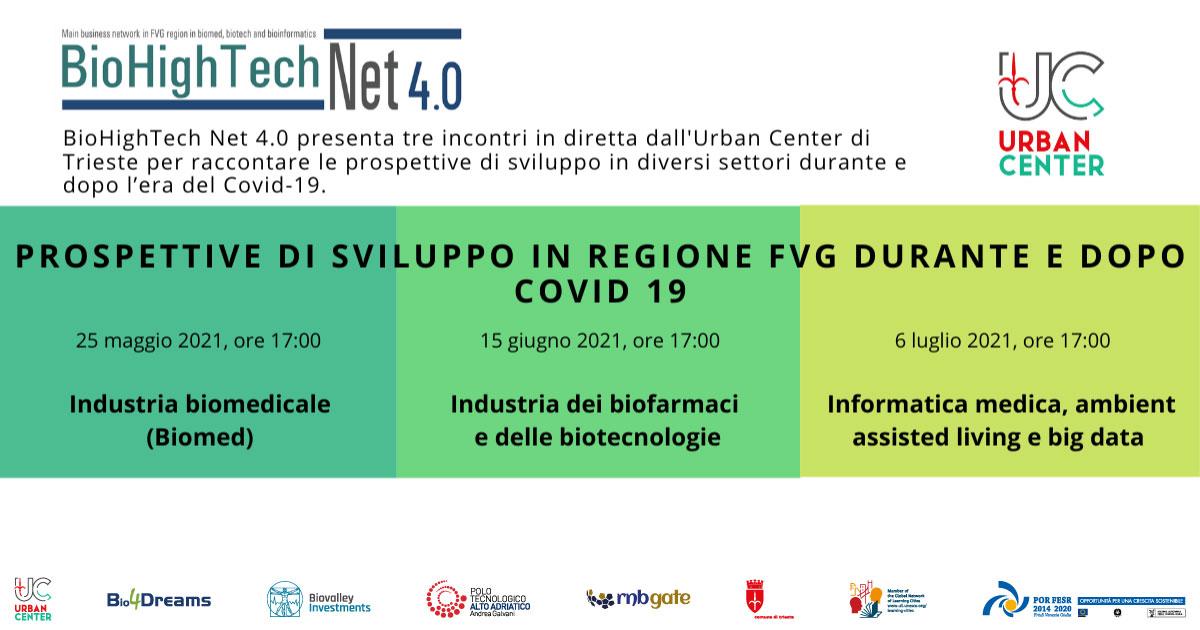 Locandina | Prospettive di sviluppo in regione FVG durante e dopo COVID 19