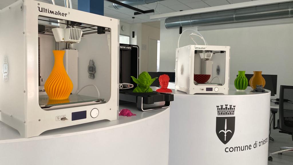 FabLab | Scanner 3D | stampanti-3D | Urban Center Trieste