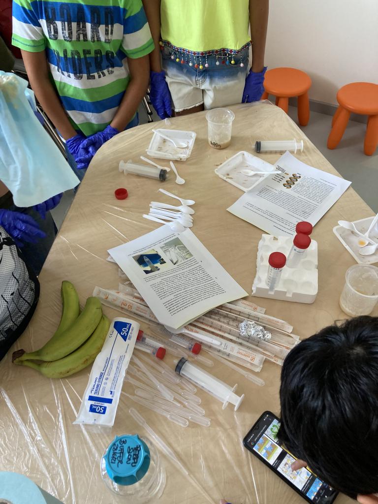 Laboratorio di biologia molecolare   23 luglio