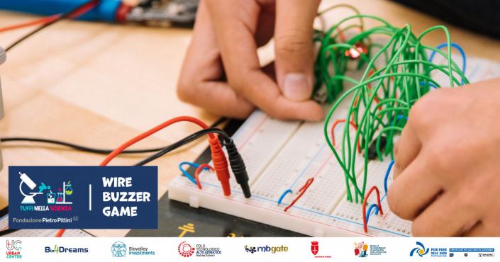 Wire buzzer game