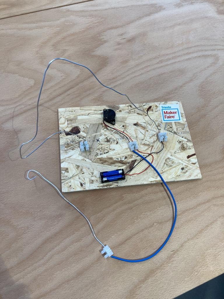 Wire buzzer game | 4 agosto 2021