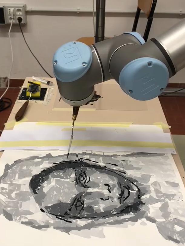 Arte e tecnologia | Un robot per dipingere con gli occhi