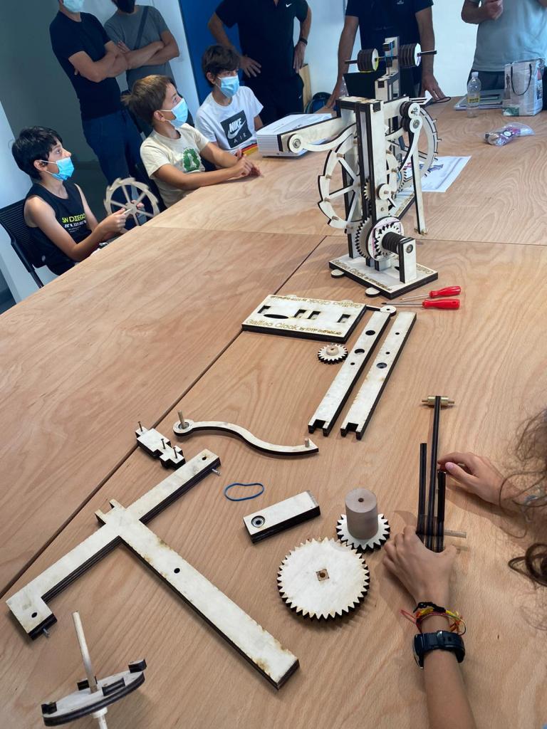 Costruisci l'orologio di Leonardo | 3 settembre